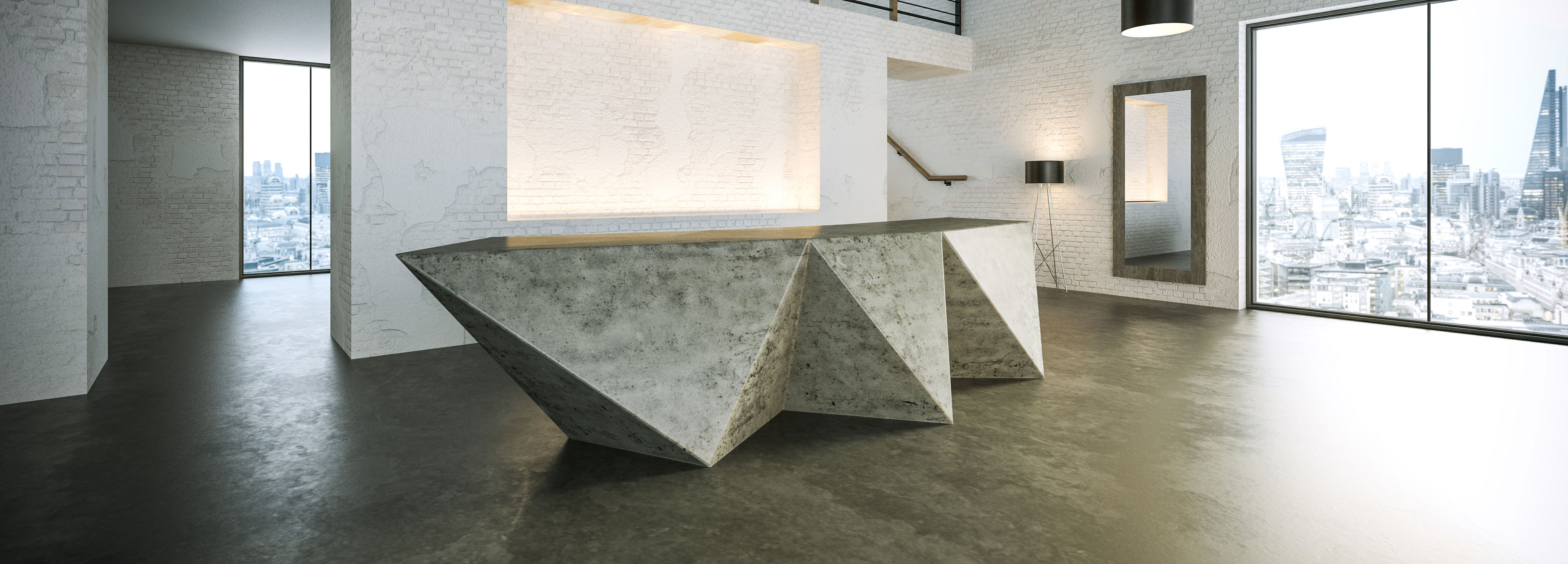 Concas Bespoke Concrete Furniture Polished Concrete Ireland Concrete Furniture Ireland