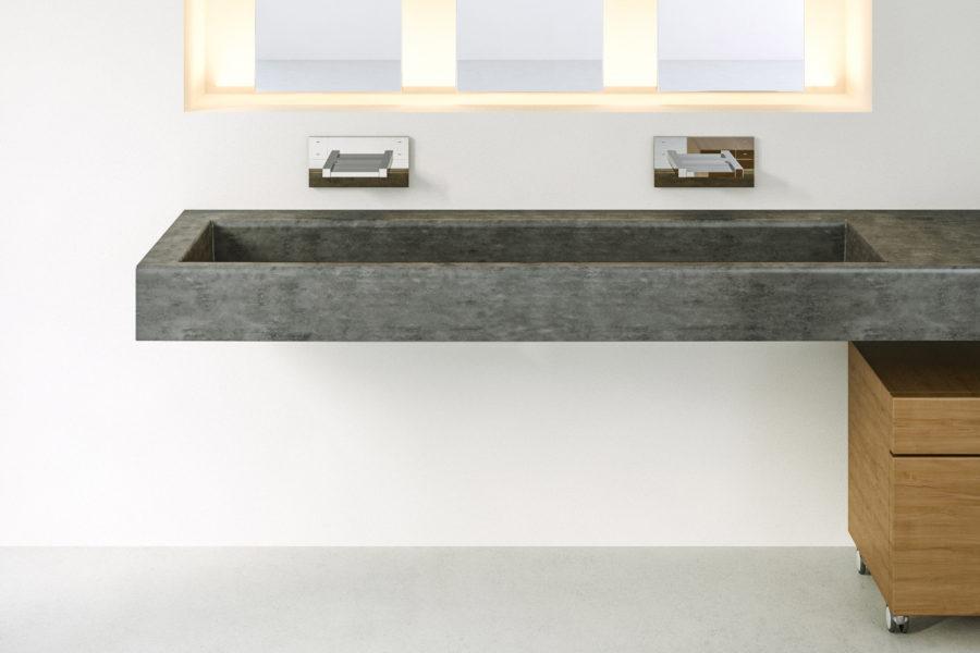 Concas Concrete Polished Concrete Bathroom Sinks